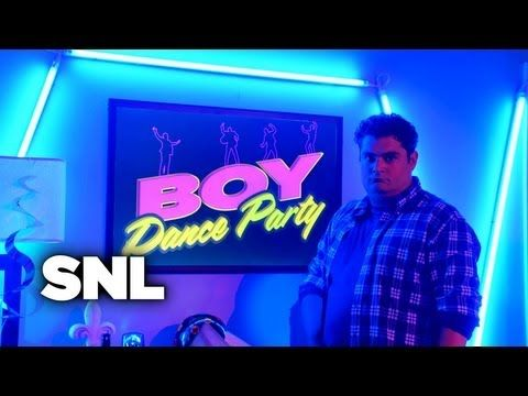 Boy Dance Party - Saturday Night Live - YouTube Gotta love SNL!
