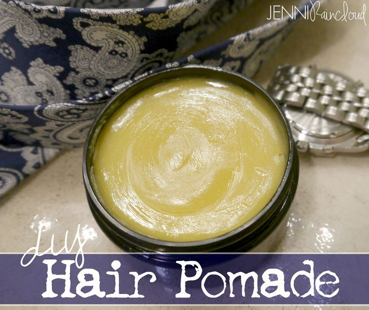 Like I've said before, I'm on a mission to make all my family's cleaning and beauty products.  I'm doing one product at a time and a friend introduced me to a recipe for hair pomade by blogger Momm...