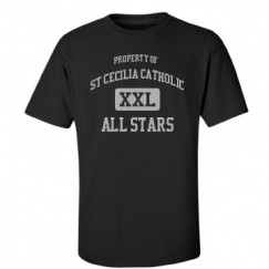 St Cecilia Catholic School - Houston, TX | Men's T-Shirts Start at $21.97