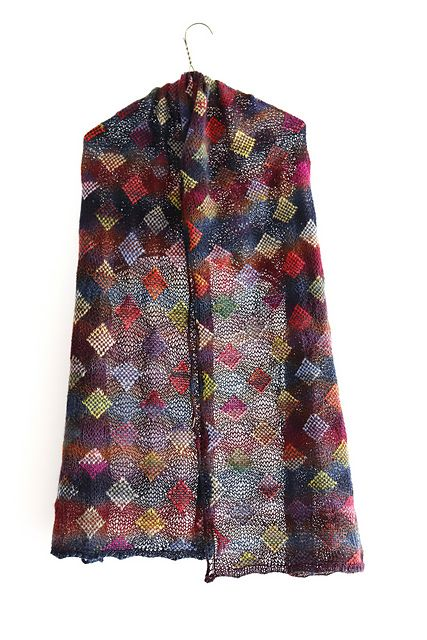 Ravelry: Polychromatic pattern by Kieran Foley