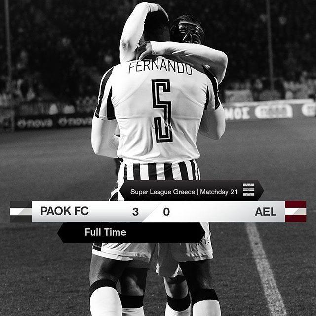 #PAOKAEL 3-0 #SuperLeague #PamePAOKARA