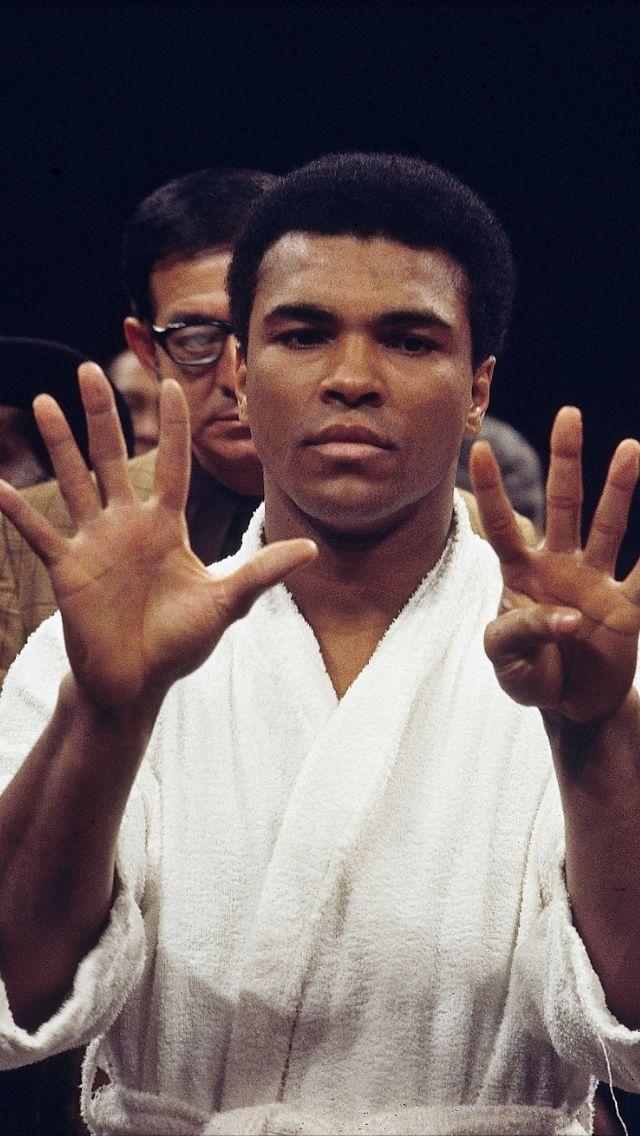 Muhammad Ali has nine of them ... whatever 'them' is.
