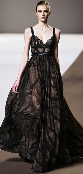 Elie SaabElie Saab Fall, Eliesaab, Runway Fashion, Black Dresses, Elie Saab Spring, Dresses Obsession, 2010 Rtw, Fall 2010, Beautiful Things