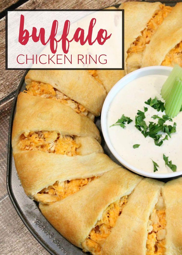 Buffalo Chicken Ring