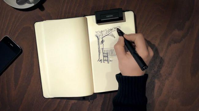 Suas idéias no papel digitalizadas em um clique