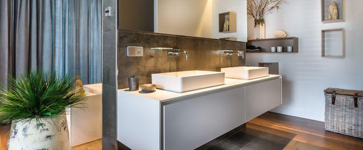 Maatwerk badkamer ontwerp | Het Fundament Architectuur