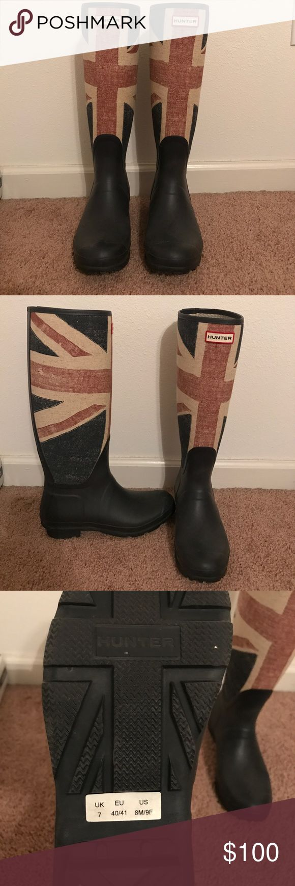Hunter Boots Limited Edition Union Jack Hunter Rain Boots Hunter Shoes Winter & Rain Boots