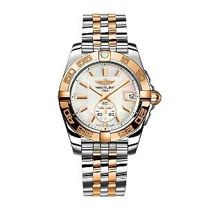 Breitling watches, beautiful in person...water resistant to 100m and fantastic sportswoman watch.