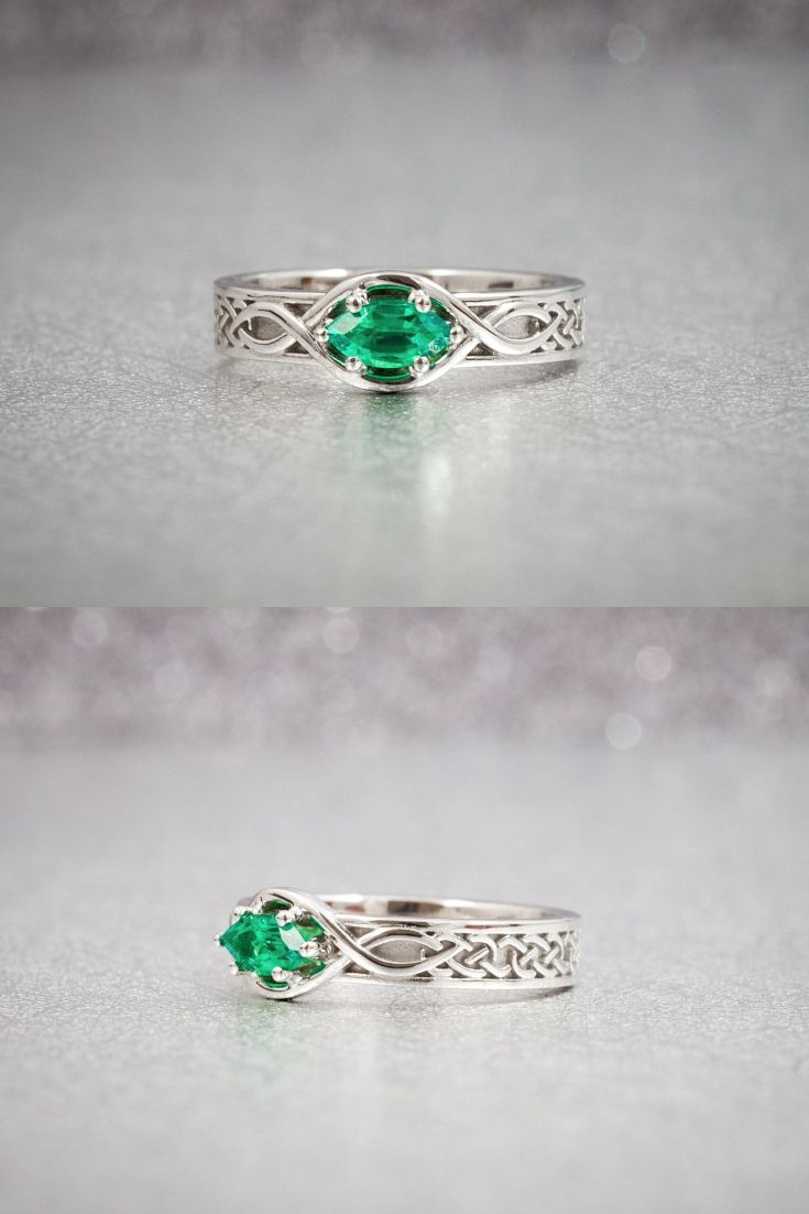 14 best irish engagement rings and bands celtic claddagh. Black Bedroom Furniture Sets. Home Design Ideas