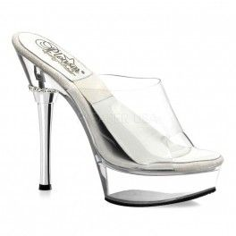 SALE SOL-601-M Sexy Clear Springolater Pole Dancing Shoes on Sale