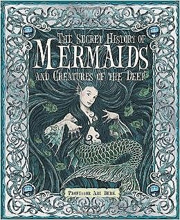 Secret History of Mermaids and the creatures of the deep. Mystical folk lore of mermaids and other deep ocean mysteries. Great beach or condo coffee table book. New Smyrna Beach at the Friki Tiki