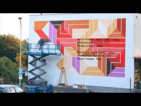 Street Art Library Chrášťany time-lapse