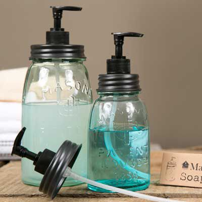 Soap and Lotion Dispensers By: Great Finds Decor www.greatfindsdecor.com Add your favorite lavender soap or lotion to your CTW dispenser.