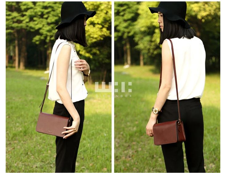 Casual simple style shoulder bag, suit for women and girls