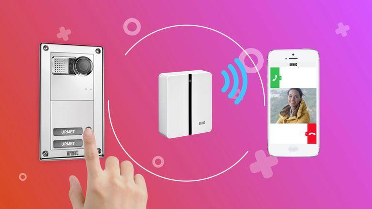 Kit per videocitofono smart URMET