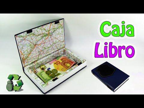 Hoy te digo como se hace una caja libro para guardar tus cosas de forma secreta. Utilizamos un libro viejo para que no llame la atención!...