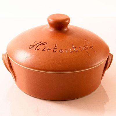 "Keramik Hirtentopf terracotta round 30cm (Shepherd's Pot  12"" Diameter)"