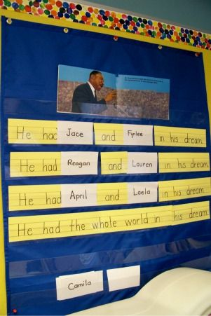 show to preschool for black history month idea