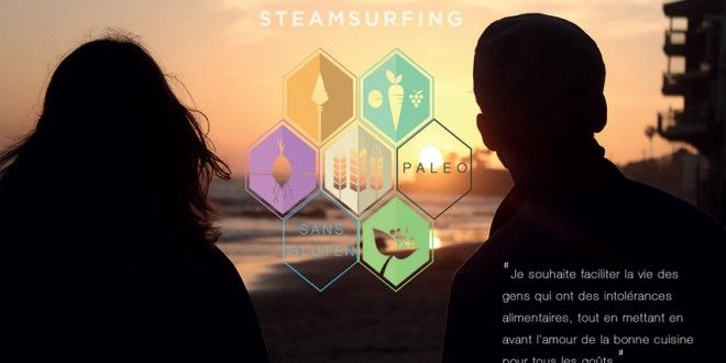 Steamsurfing, le premier réseau social du repas sain chez l'habitant