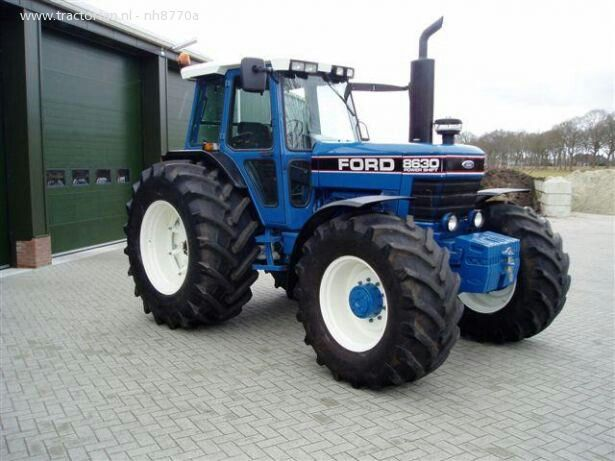 Ford 8630 power shift