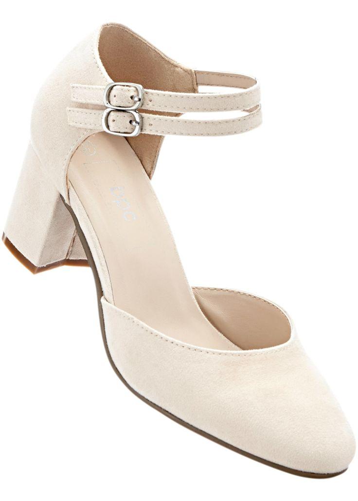 Spangenpumps sandbeige jetzt im Online Shop von bonprix.de ab ? 26,99 bestellen. Schön in der Form und bequem zu tragen ? mit diesen Eigenschaften empfiehlt ...
