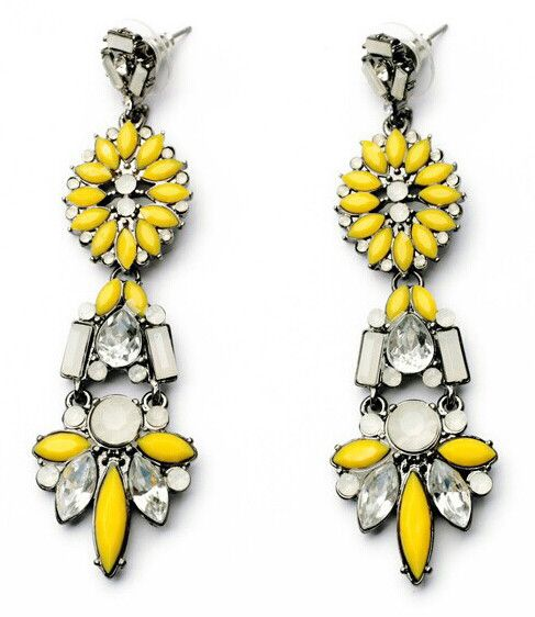 Aztec Yellow Drops