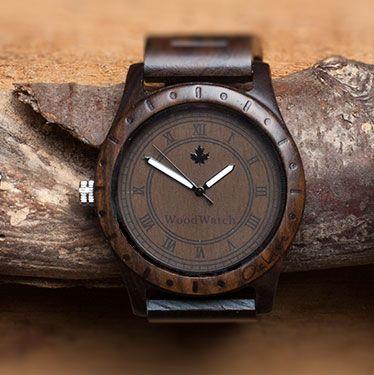 Oaklee   WoodWatch houten horloge