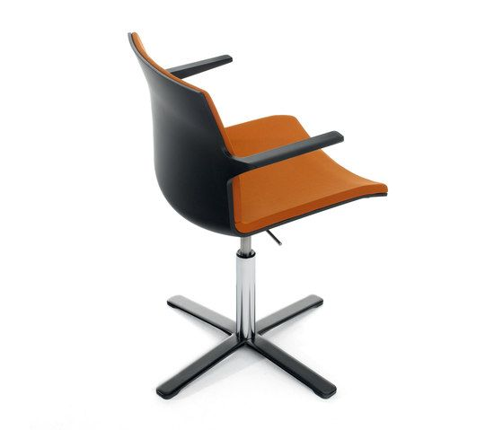 Trazo by Dynamobel | Visitors chairs / Side chairs