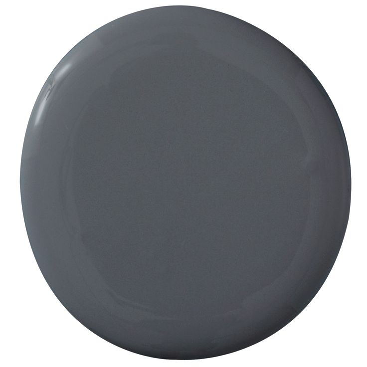 """""""My philosophy is, the smaller the space, the darker the shade. I recently used this charcoal in a powder room from floor to ceiling. It's modern and sophisticated, yet still cozy and chic. And don't be afraid of using oversize artwork in tight quarters, either. It makes the space seem bigger than it really is!"""" —Hillary Thomas   - HouseBeautiful.com"""