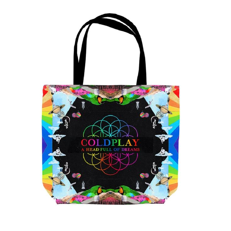 Coldplay Official Store   Pre-Order Coldplay Vinyl Tote Bag*