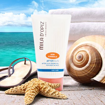 Suffering the burn of the Australian Sun after celebrating Australia Day? Try a little Mila d'Opiz After Sun Gel to cool, relax and calm that irritated burnt skin. Store it in the fridge for that extra cooling boost!