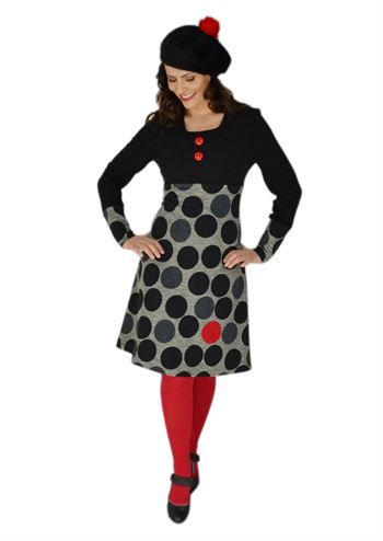 Siri S Design kjole Red Dotts nr 13