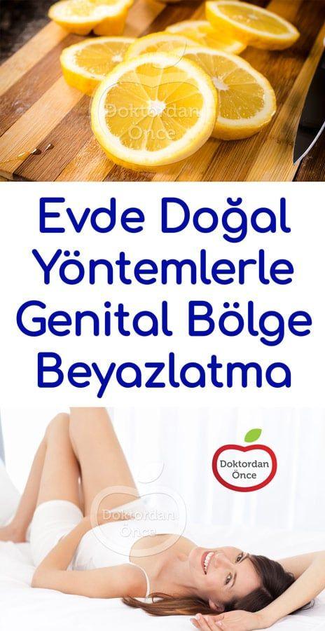 Evde Genital Bölge Beyazlatma