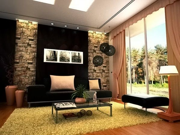 Idées de salon contemporain ~ Décoration Salon / Décor de Salon