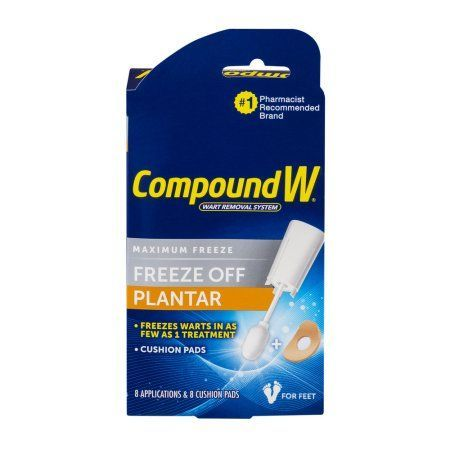 Compound W Maximum Freeze Off Plantar Wart Removal System - 8 CT, Multicolor
