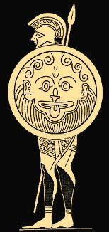 Achille est un héros grec de la Guerre de Troie. Pour le rendre invincible, Achille est plongé par sa mère Thétis dans le Styx, un fleuve des Enfers. Seul le talon d'Achille n'est pas imprégné, devenant son point faible. Le centaure Chiron lui inculque l'art de la guerre, la musique et la médecine. Il rencontre plus tard Ulysse, qu'il rejoint dans la Guerre de Troie, où il meurt glorieusement.