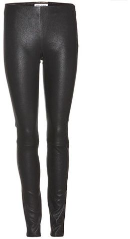 Saint Laurent Stretch-leather Leggings