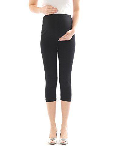 #Umstand #Hose #Capri #3/4 #Umstandsleggings #Baumwolle #Schwarz #S Umstand Hose…