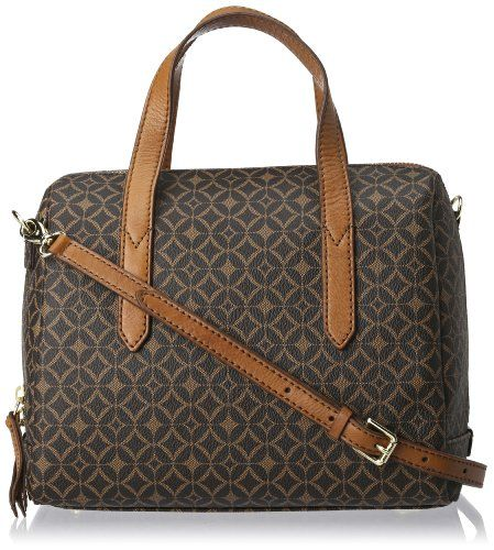 Purchase The Brilliant Fossil Sydney Signature Satchel Multi Brown One Size By Online Today This Por Product Is Currently In Stock Get