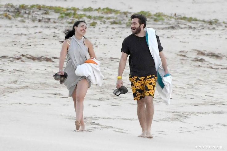 Jake Gyllenhaal Escapes to St. Barts For a Quick Vacation With Longtime Pal Greta Caruso