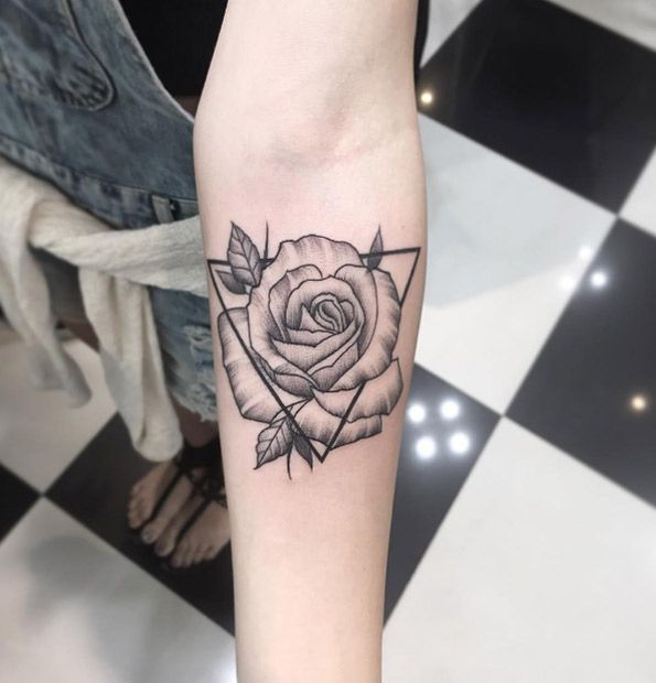 The 25 best rose tattoo forearm ideas on pinterest rose for Forearm flower tattoos