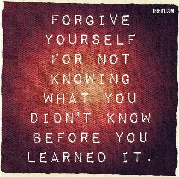 """The happiest people see themselves as lifelong learners and believe, """"There is no failure, only feedback.""""  Practice forgiving yourself for """"not knowing,"""" it will set you free. #FridayFreedom"""