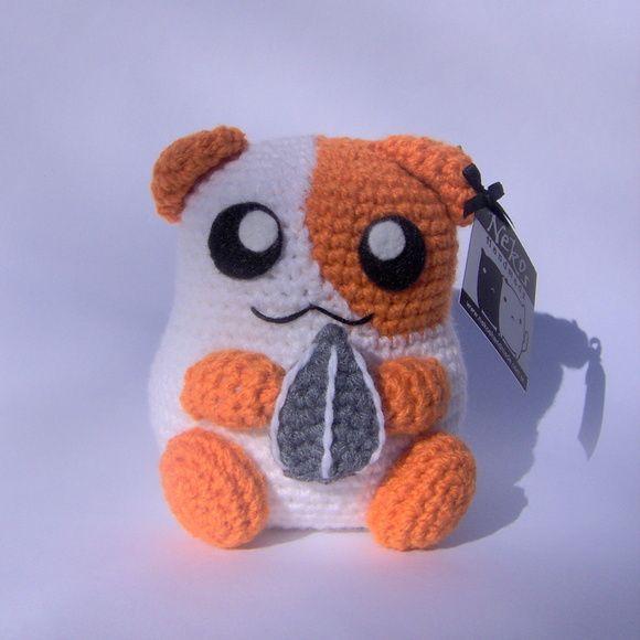 Hamster Amigurumi tejido a crochet plush