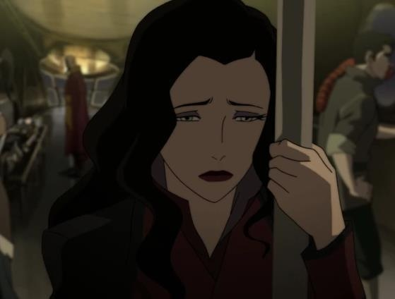 Asami Sato (Avatar: The Legend of Korra): Cartoon