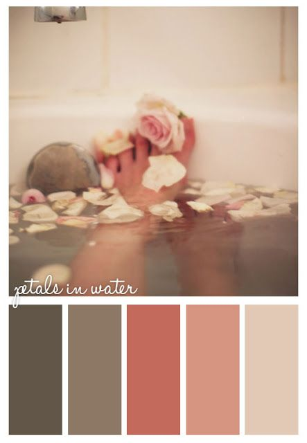 Bathroom Petal Tones