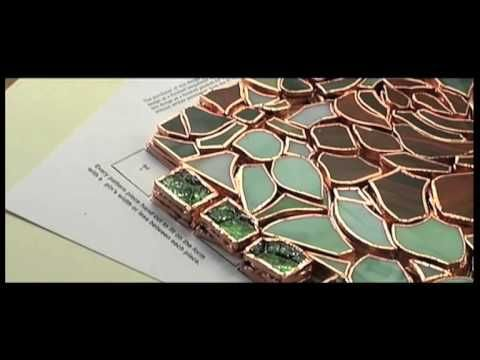 The Making of a Stained Glass Tiffany Lamp - YouTube