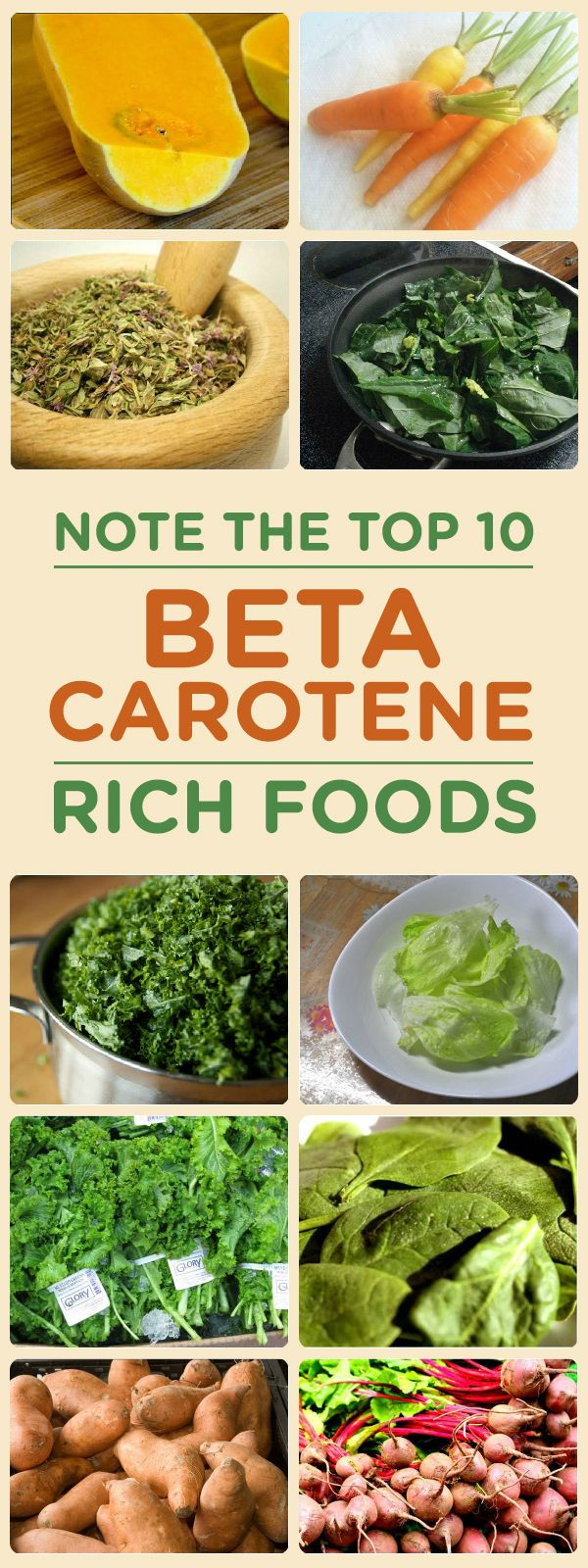 Beta carotene is an essential nutrient for various reasons for a healthy body. Here are the top 10 beta carotene foods that can add to your diet ...