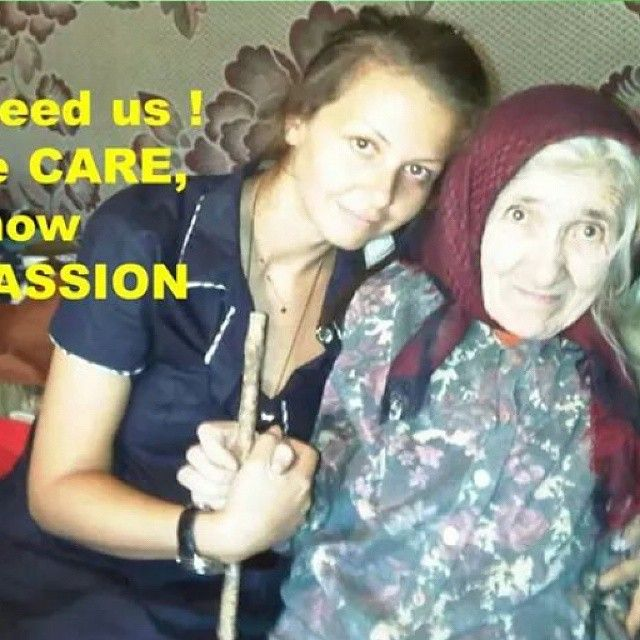 """""""Hugging an Elderly is like wearing a precious stone. ...gives you more value…"""