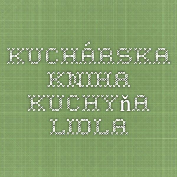 kuchárska kniha Kuchyňa Lidla
