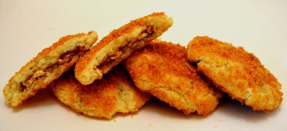 How to Make Snickerdoodles Stuffed with Snickers and Rolled in Cheez Doodles |Foodbeast